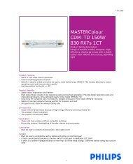 MASTERColour CDM-TD 150W/ 830 RX7s 1CT - Selecon