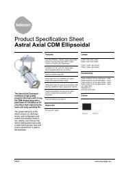 Astral Axial CDM Ellipsoidal - Selecon