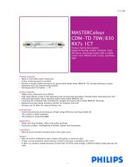 MASTERColour CDM-TD 70W/830 RX7s 1CT - Selecon