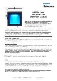 Aurora Flood & Cyc Manual - Firefly
