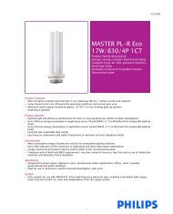 MASTER PL-R Eco 17W/830/4P 1CT - Selecon