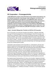 VX Corporation - encee CAD / CAM Systeme GmbH