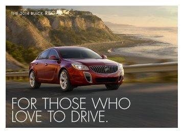 2014 Buick Regal Brochure