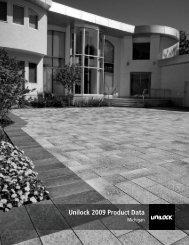 Unilock 2009 Product Data - Select Stone Company
