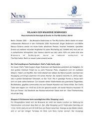 relaunch der brasserie desbrosses - Selektion Deutscher Luxushotels