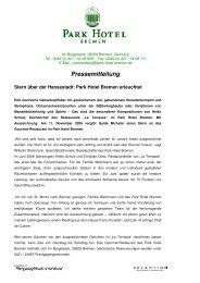 Pressemitteilung-Stern über der Hansestadt - Aktuelles aus den ...