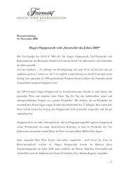 Hagen Hoppenstedt wird Sommelier des Jahres - Aktuelles aus den ...