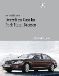 Derzeit zu Gast im Park Hotel Bremen. - Aktuelles aus den Hotels ...