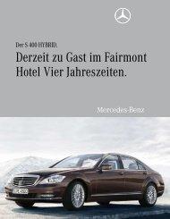 Derzeit zu Gast im Fairmont Hotel Vier Jahreszeiten. - Aktuelles aus ...