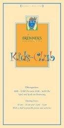 Kids-Club Flyer - Aktuelles aus den Hotels der Selektion Deutscher ...