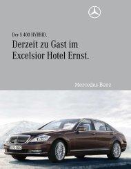 Derzeit zu Gast im Excelsior Hotel Ernst. - Aktuelles aus den Hotels ...
