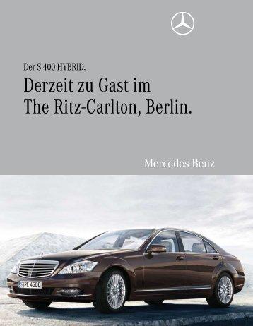 Derzeit zu Gast im The Ritz-Carlton, Berlin. - Aktuelles aus den ...
