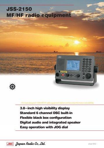 JSS-2150 MF/HF radio equipment - AlphaBridge