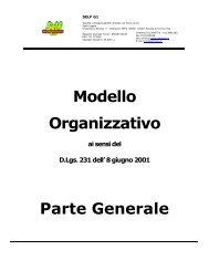 Modello Organizzativo Parte Generale - Self