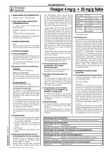 Finalgon 4 mg/g + 25 mg/g Salbe - Home selfmedic.de