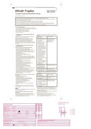Effortil® Tropfen abcd - Home selfmedic.de