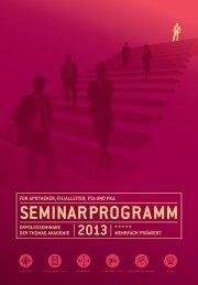 Seminarkatalog der Thomae Akademie hier - Home selfmedic.de