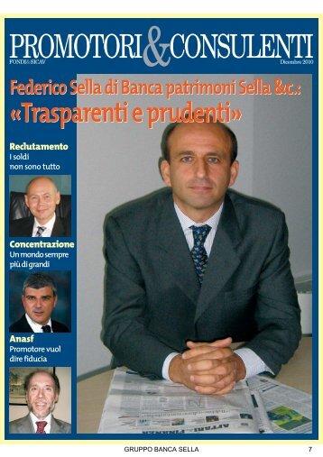 PROMOTORI&CONSULENTI; - Banca Sella