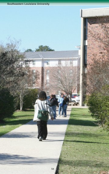 Divisionfor Student Affairs - Southeastern Louisiana University