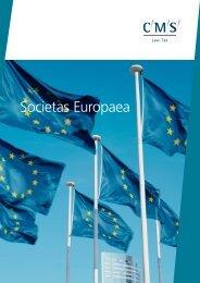 Societas Europaea - CMS Legal