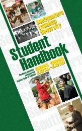2012 Student Handbook.indd - Southeastern Louisiana University