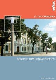 EXTERIOR IRONDERO Effizientes Licht in bewährter Form - Selux