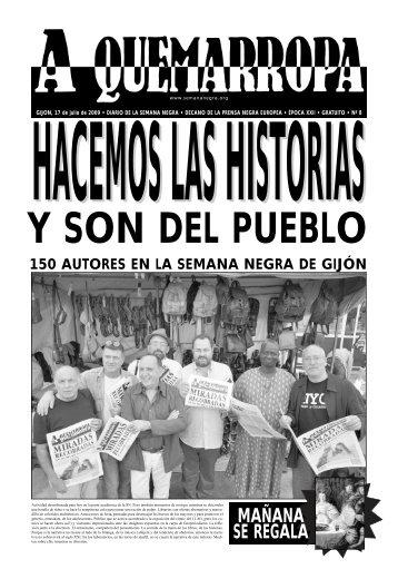 Viernes 17 - Semana Negra Gijón