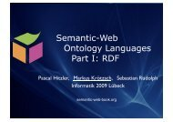 Part 1: Introduction to RDF and RDFS - Foundations of Semantic ...