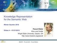 RDFS - Foundations of Semantic Web Technologies
