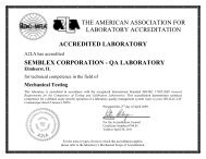 the american association for laboratory accreditation accredited