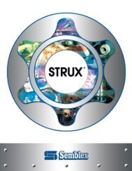 Strux ® Stud - Semblex Corporation