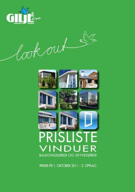 GILJE - Prisliste - vinduer, balkongdører og ... - Sem Bruk AS