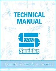 Semblex Corporation Technical Manual December 2003