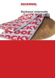 Datablad vintermatte_page2.indd - Rockwool AS