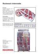 Datablad vintermatte_page2.indd - Rockwool AS - Page 2