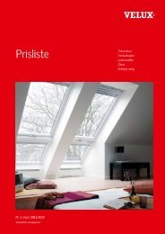 ELUX - prisliste - Velux AS