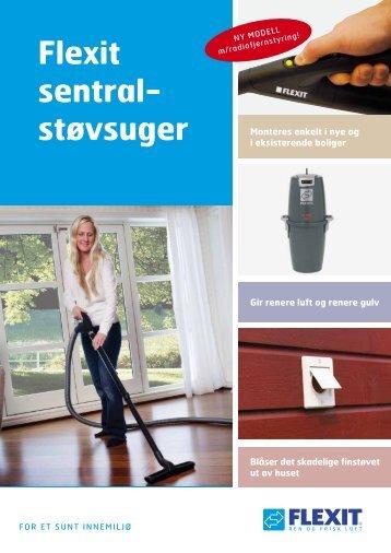 Flexit sentral- støvsuger - Sem Bruk AS