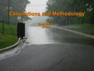 Calculations and Methodology - Semcog
