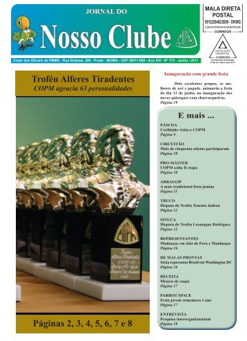 Jornal COPM - Ano XVl - Nº 175 - Junho / 2011 - By ConsulteWeb!