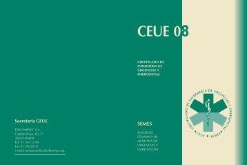 ¿Qué es el CEUE? - Sociedad Española de Medicina de Urgencias ...