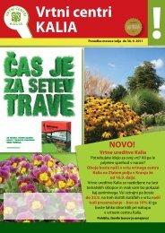 Vrtni centri KALIA - Semenarna Ljubljana