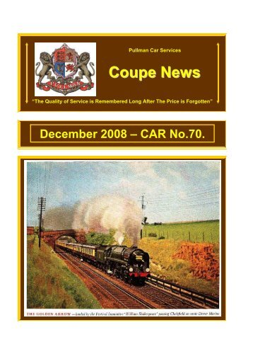 Coupe News No.70 - December 200 - Southern Email Group