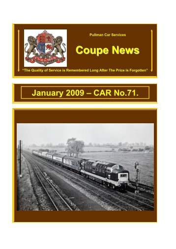 Coupe News No.71 - Southern Email Group