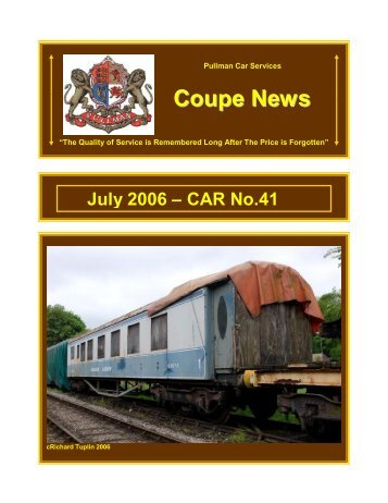 Coupe News No 41 - Southern Email Group