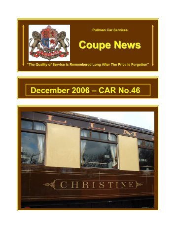 December 2006 – CAR No - Southern Email Group