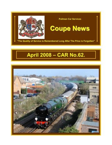 Coupe News No.62 - April 2008 - Southern Email Group