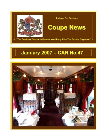 January 2007 – CAR No - Southern Email Group