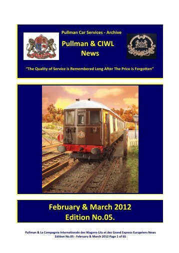 Pullman Car Services - Archive - Southern Email Group