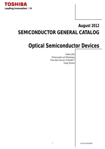 Optical Semiconductor Devices : SEMICONDUCTOR GENERAL ...