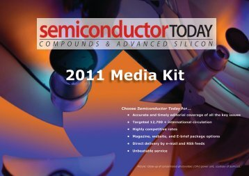 Download £ Sterling Media Kit PDF (2.4 MB) - Semiconductor Today